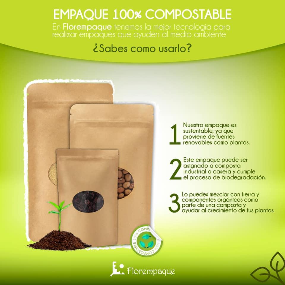 ¿Quieres que el empaque de tu producto sea amigable con el medio ambiente?