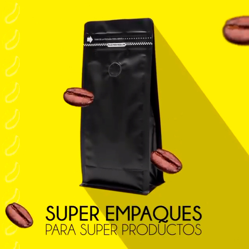 Doypack covers to better preserve your food.