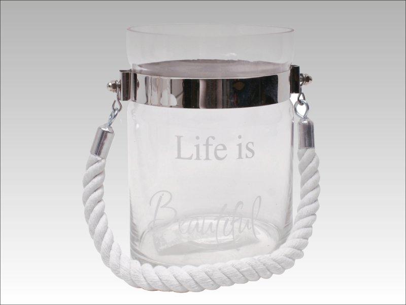 Vaso Life is Beautiful (Plata)