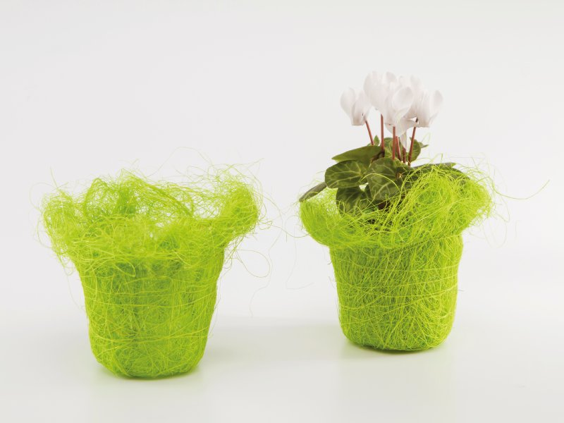 Sisal Potcover Green